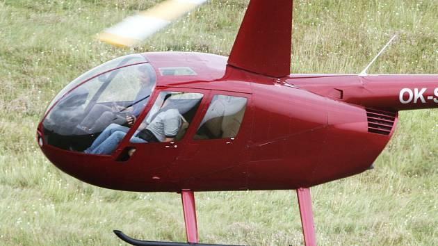 Vrtulník roudnické firmy LPS