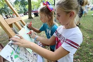 Litoměřický Dům dětí Rozmarýn v parku připravil ukázky zájmových kroužků
