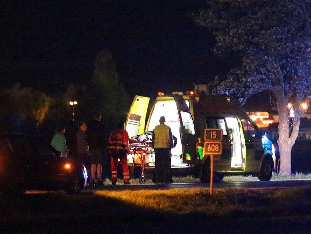 Další vážná nehoda na Litoměřicku se stala ve středu večer před půl desátou na silnici 1/15 z Lovosic do Terezína.