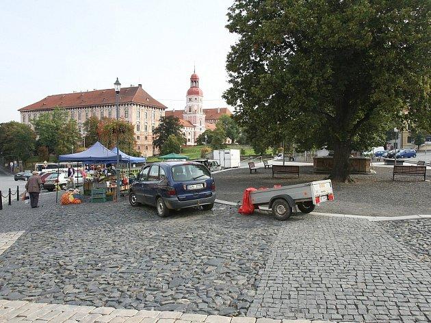 Náměstí vRoudnici nad Labem.