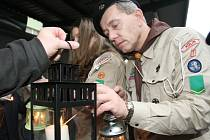 Betlémské světlo v Litoměřicích - Vánoce 2012