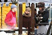 Tradiční masopust na Mírovém náměstí v Litoměřicích