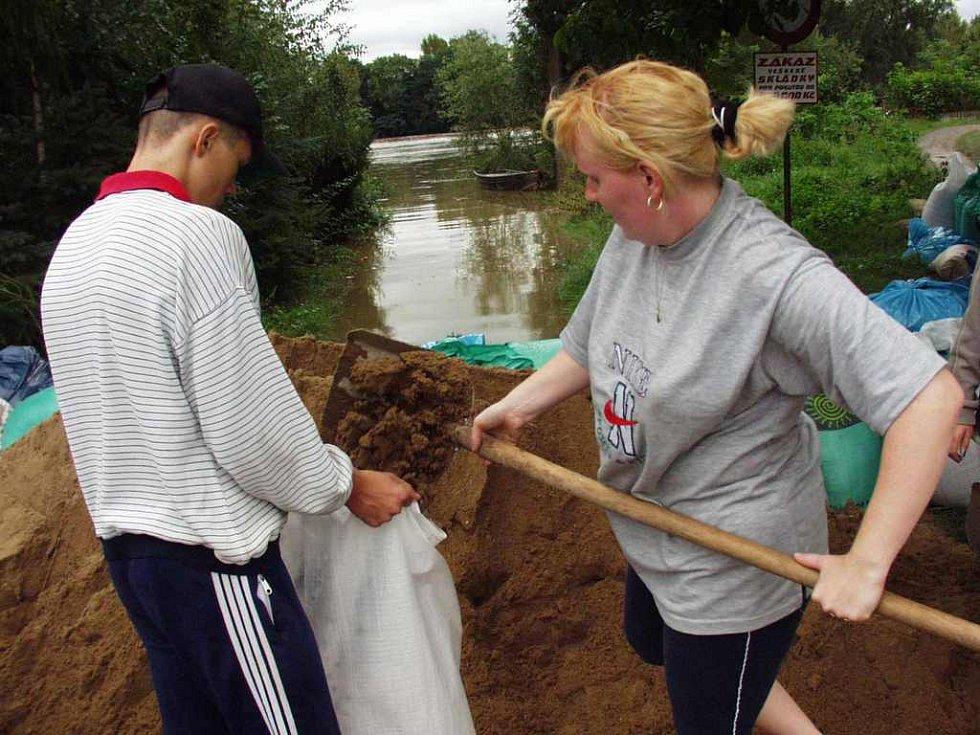 Povodně 2002 - Píšťany