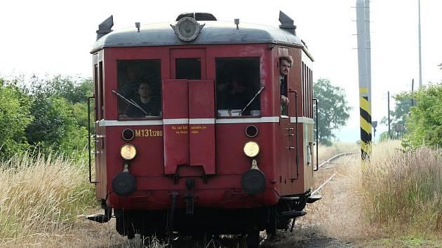 """HURVÍNEK. Vozidlo s označením M 131 přezdívané """"Hurvínek"""" bude rovněž k vidění na oslavách 30 let Klubu železničních cestovatelů v Lovosicích."""