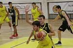 Slavoj Litoměřice - Sršni Písek, I. liga basketbal 2019/2020