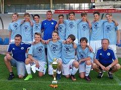 Starší žáci patřili k nejlepším mládežnickým výběrům SK Roudnice v minulé sezoně. Ovládli i krajský přebor.