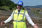 Pondělní prohlídka stavby D8