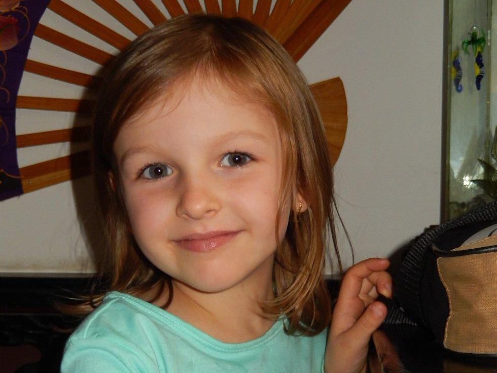 1. Vanesa Mikulová - 6 let, Roudnice nad Labem.