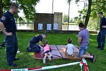 Děti zaměstnanců litoměřické věznice si užily svůj den plný zábavy