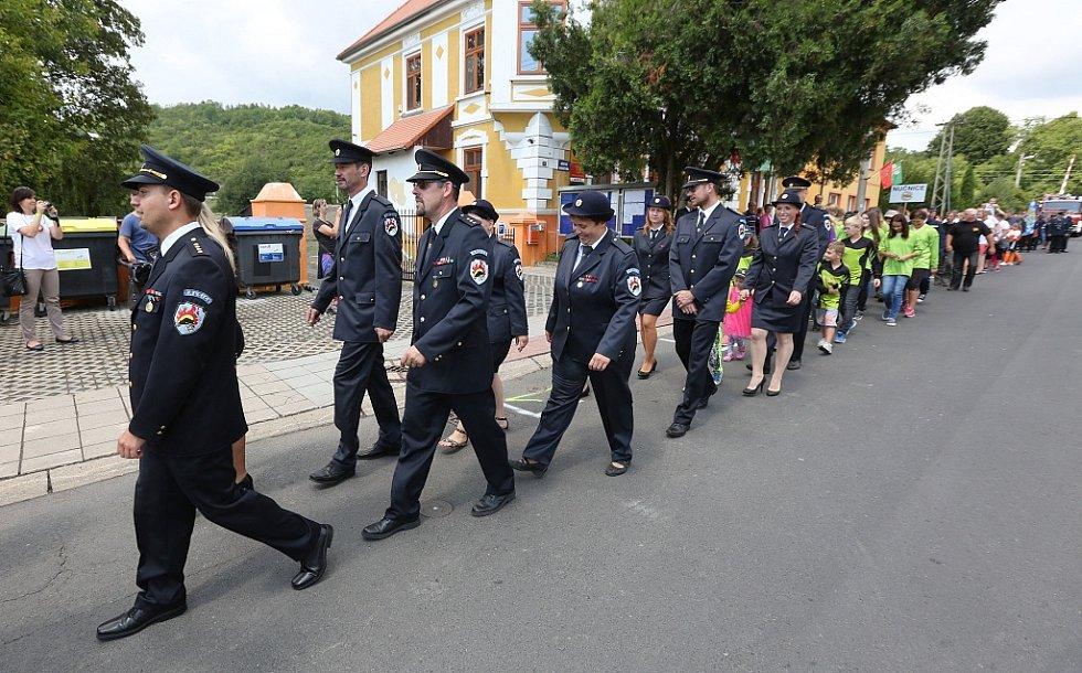 Křešice oslavily výročí 960 let od první písemné zmínky o obci, místní dobrovolní hasiči navíc 140 let činnosti