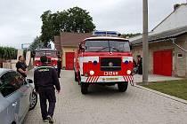 Nový vůz křešických hasičů.