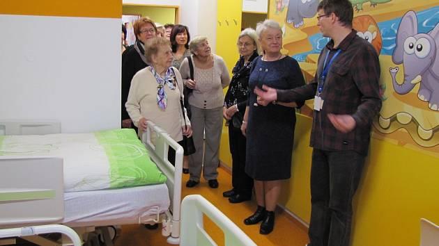 Den otevřených dveří na dětském oddělení v litoměřické nemocnici