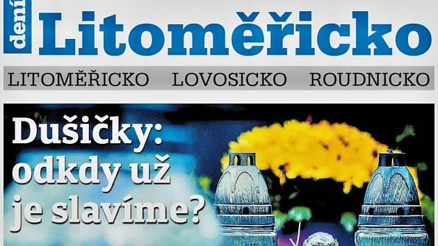 Týdeník Litoměřicko z 31. října 2018