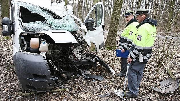 Čtvrteční vážná nehoda u Milešova