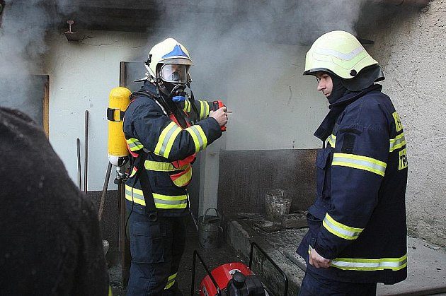 Požár v Jenčicích