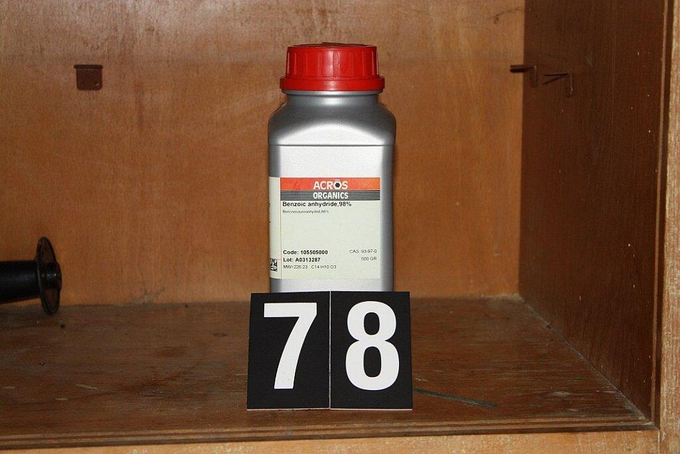 Odhalená výrobna pervitinu u Štětí