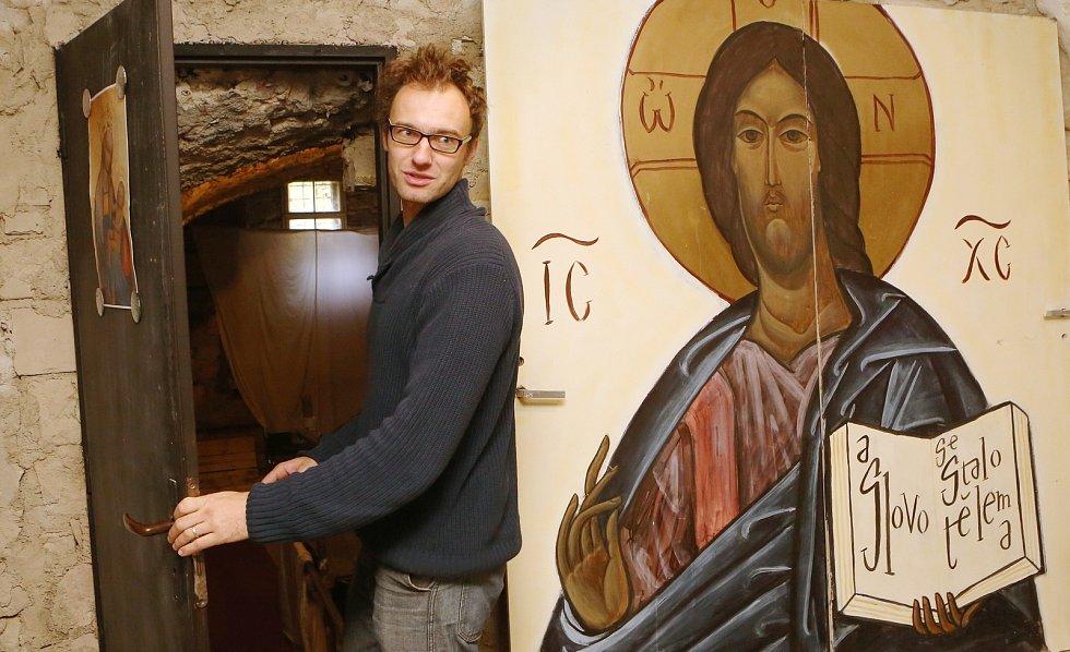 Pastorační asistent a divadelník Jan Horák.