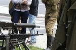 Konec války si lidé v Roudnici připomněli v řopíku