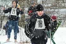 Třebenická běžka přilákala na start třicítku lyžařů