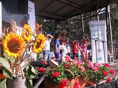 Slavnostní vyhlášení ankety Vesnice roku v Libochovanech.