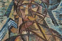 Obraz Bohumila Kubišty s názvem Námořník.