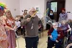 Zábavné odpoledne v čížkovickém domově důchodců.