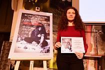 Výherkyně loňského ročníku Kristýna Davidová (kategorie II – pro střední školy a učiliště).