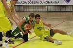 Basketbalové utkání Litoměřice a Liberec, I. liga 2019/2020