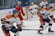 Hokejové utkání mezi Litoměřicemi a Porubou, 51. kolo Chance ligy 2018/2019