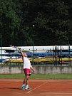 Hermína Cup 2017 se tradičně uskutečnil na antukových kurtech tenisového oddílu na Střeleckém ostrově vLitoměřicích.