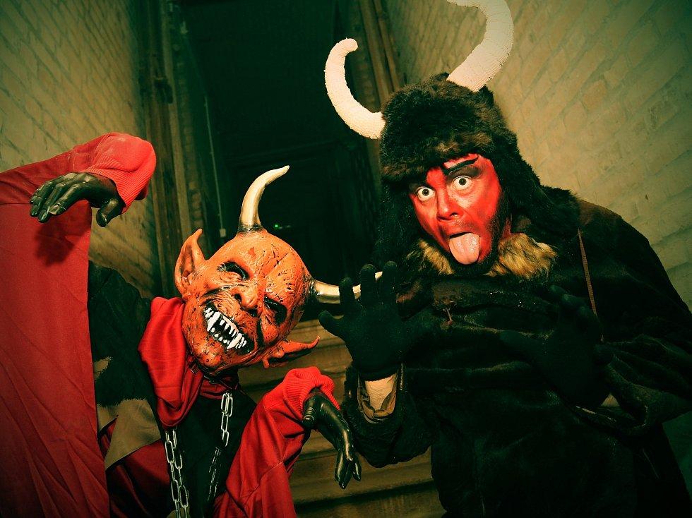 V Lovosicích připravili pro děti akci s názvem Strašidelná sklepení.