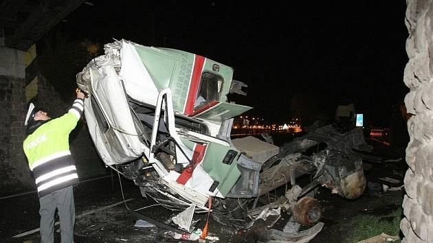 Nehoda v Lovosicích.