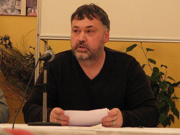 Luboš Matek na archivním snímku