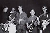 Kapela The Postmen ze Štětí. Vzorem jim byli i Beatles