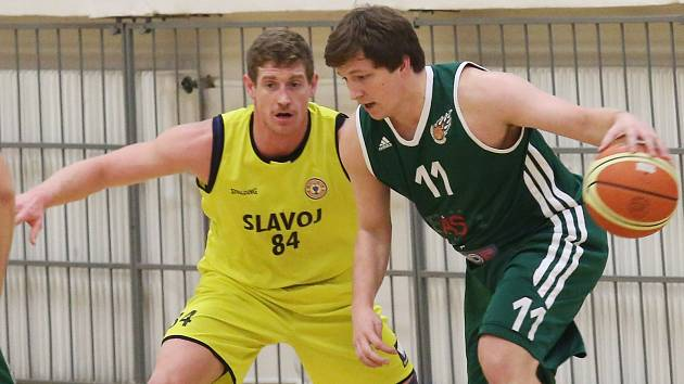 Basketbalový zápas Litoměřice - Košíře