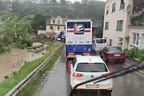 silné deště zasáhly Německo. Kvůli tomu se neuskutečnilo FIA Mistrovství Evropy tahačů.