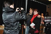 Premiéra filmu Probudím se včera v kině Máj za účasti herců.