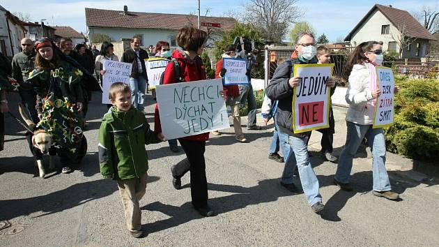 Protestní pochod.