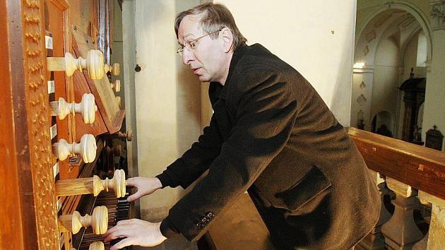400 let staré varhany v litoměřické katedrále.