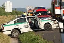 Nehoda na D8
