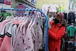 Zákazníci mohli v pondělí navštívit také obchod s oblečením pro děti v litoměřické Novobranské ulici.