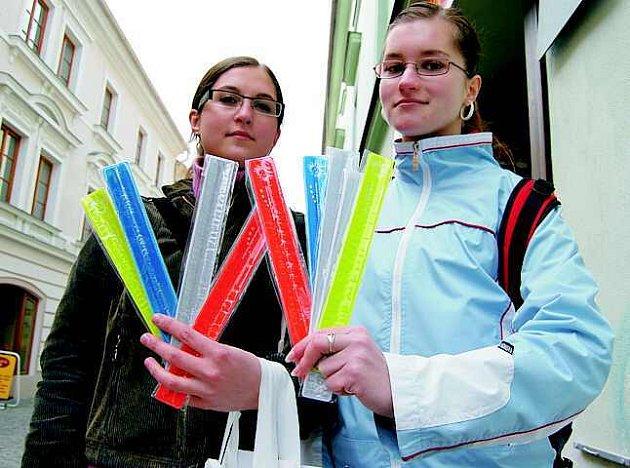 Studentky vyrazily do ulic