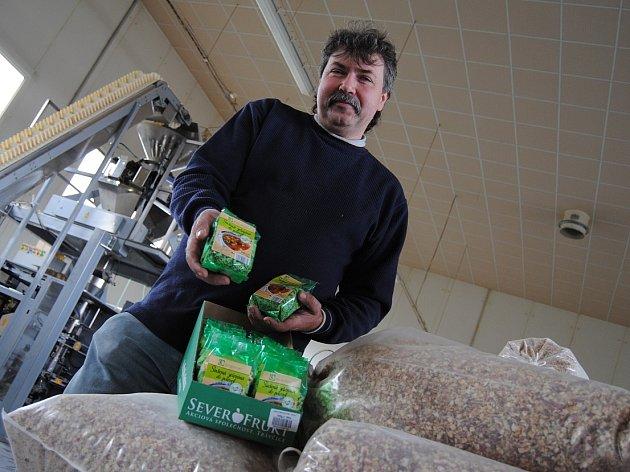 Mimořádnou cenou ohodnotila porota soutěže  Nejlepší potravinářský výrobek Ústeckého kraje produkt travčického Severofruktu Sušená zelenina do polévek.