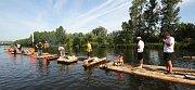 Plavení vorů se dřevem pro Kalich