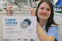 Do sbírky organizované Nadačním fondem Kapka naděje se v únoru 2015 zapojila Městská nemocnice v Litoměřicích.