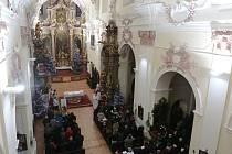 Kostel Všech Svatých v Litoměřicích, ilustrační foto.