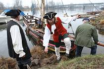 Piráti propluli regionem do Litoměřic