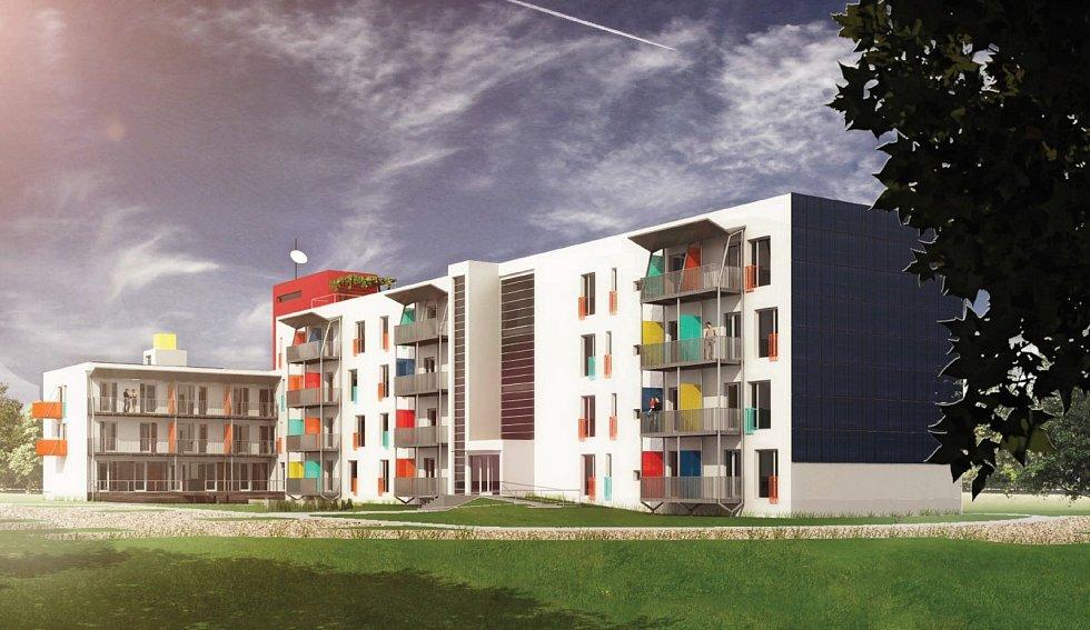Byty pro mladé rodiny vzniknou přestavbou bývalého vojenského objektu v Jiříkových kasárnách.