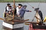Jezero Chmelař se opět stane dějištěm velké pirátské bitvy