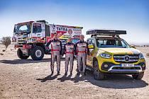 Tým Buggyra Racing na Dakaru.